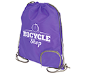 Marathon Foldable Drawstring Bags  by Gopromotional - we get your brand noticed!