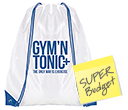 Essential Ice Budget Drawstring Bags  by Gopromotional - we get your brand noticed!