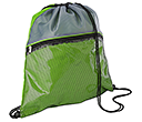 Duo Colour Mesh Drawstring Bags  by Gopromotional - we get your brand noticed!