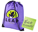 Premium Recycled Drawstring Bags  by Gopromotional - we get your brand noticed!