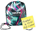 ColourBrite Drawstring Bags  by Gopromotional - we get your brand noticed!