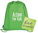 Enviro Drawstring Bags  by Gopromotional - we get your brand noticed!