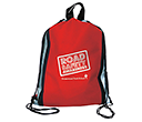 Starburst Reflective Drawstring Bags  by Gopromotional - we get your brand noticed!