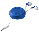 Storm Retractable Earbuds  by Gopromotional - we get your brand noticed!