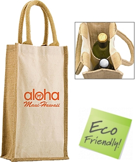 Halifax Combo Jute Bottle Bags