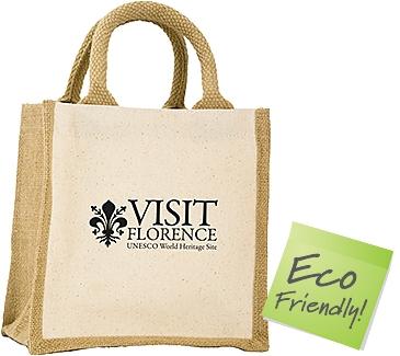 Camden Natural Cotton Jute Gift Bags