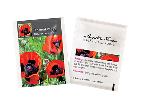 Seed Packets - Poppy