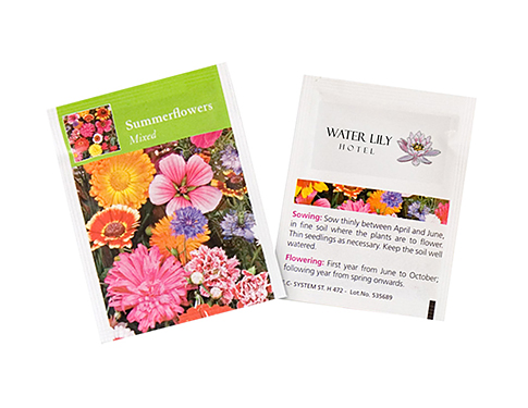 Seed Packets - Summer Flowers