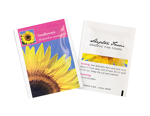 Seed Packets - Sunflowers