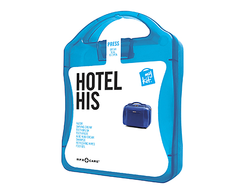 His Hotel Survival Case