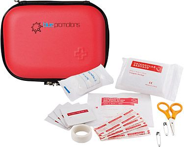 17 Piece First Aid Kits