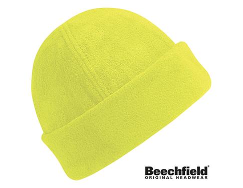 Beechfield Hi-Vis Ultra-Thermal Supra Fleece Ski Hat