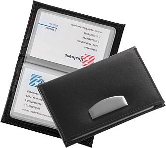 Chicago Leather Business Card Wallets