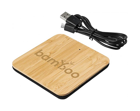 Sherwood Bamboo Wireless Charging Pad