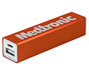 Velocity Aluminium Power Banks - 2200mAh  by Gopromotional - we get your brand noticed!