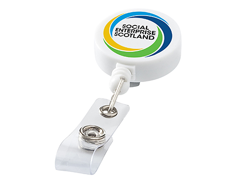 Delegate Retractable Rollerclip Keyring