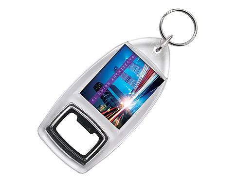 Acrylic Keyring Bottle Opener