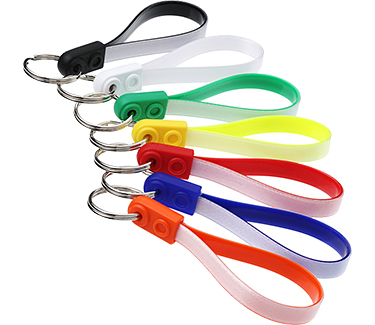 Promotional Ad Loop Keyrings Printed With Your Logo At