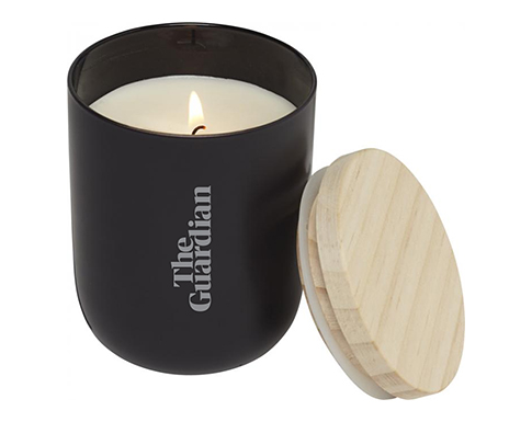 Spa Candle With Wooden Lid