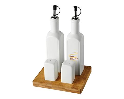 Venice Tabletop Condiment Set