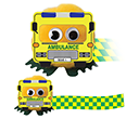 Ambulance Logobugs  by Gopromotional - we get your brand noticed!