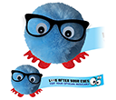 Clear Spectacles Logobugs  by Gopromotional - we get your brand noticed!
