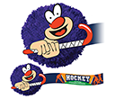 Hockey Mophead Card Face Logobugs  by Gopromotional - we get your brand noticed!