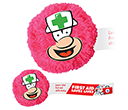 Nurse Mophead Card Face Logobugs  by Gopromotional - we get your brand noticed!