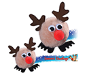 Reindeer Logobugs  by Gopromotional - we get your brand noticed!