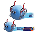 Wheelchair Logobugs  by Gopromotional - we get your brand noticed!