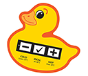 Duck Bath Water Temperature Gauge Cards  by Gopromotional - we get your brand noticed!