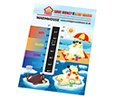 Large Temperature Gauge Cards  by Gopromotional - we get your brand noticed!
