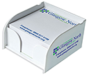Arc Mini Memo Holders  by Gopromotional - we get your brand noticed!