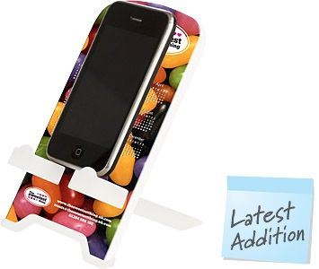 Promotional Brite Dock Mobile Phone Holders Printed With