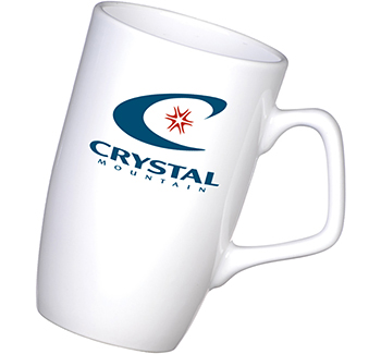 Corporate Mugs White Printed With Your Logo