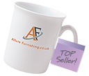 Marlborough Bone China Mugs  by Gopromotional - we get your brand noticed!