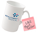 Opal Bone China Mugs  by Gopromotional - we get your brand noticed!