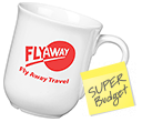 Budget Buster Bell Mugs  by Gopromotional - we get your brand noticed!