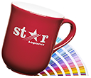 Bell Promotional Etched Pantone Matched Mugs  by Gopromotional - we get your brand noticed!