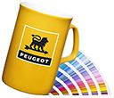 Opal Pantone Matched ColourCoat China Mugs  by Gopromotional - we get your brand noticed!