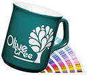 Sparta Pantone Matched Mugs  by Gopromotional - we get your brand noticed!