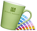Torino Pantone Matched ColourCoat Porcelain Mugs  by Gopromotional - we get your brand noticed!