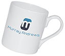 Chique Espresso China Mugs  by Gopromotional - we get your brand noticed!