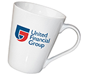 Campden Porcelain Mugs  by Gopromotional - we get your brand noticed!