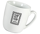 Roma Porcelain Mugs  by Gopromotional - we get your brand noticed!