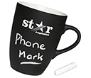 Marrow Chalk Mugs  by Gopromotional - we get your brand noticed!