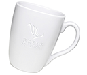 Quadra Etched Mugs - White  by Gopromotional - we get your brand noticed!