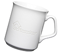 Sparta Etched Mugs - White  by Gopromotional - we get your brand noticed!