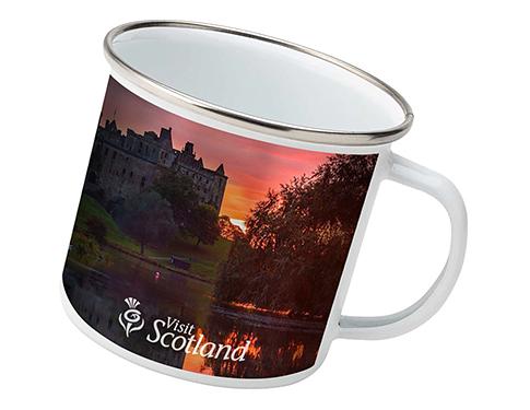 Trail 300ml Premium Enamel Photo Mug