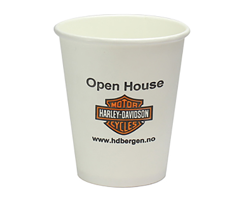 Single Walled Barista Paper Cup - 230ml